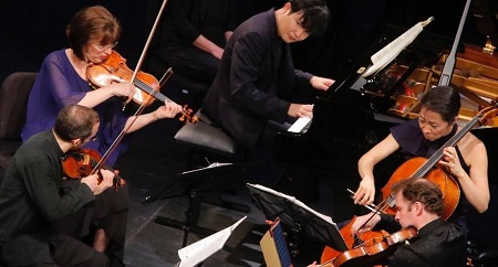 Brentano Quartet w/ Y. Sunwoo
